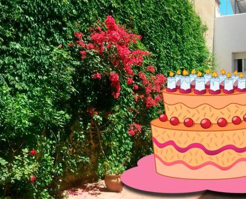 Feliz XI cumpleaños Residencia Madre