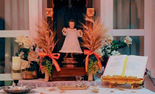 Residencia Madre altar Corpus Christi